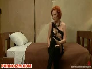 Maledom Bdsm Slave Audrey Hollander Torments In Bondage   Webcam Girl Audrey