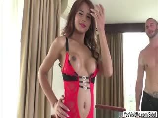 Thai Tranny Cartoon Candy Sucks And Rides Youlian Hard Cock And Loves It
