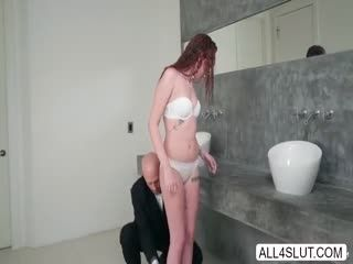 Naughty Redhead Teen Alice Coxxx Seduces Johnny Sin And Gets Intense Fucked