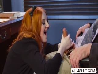 Gold Hair Teen Krystal Orchid Sucks Cock And Gets Hardcore Fucked To Get A Good Grades