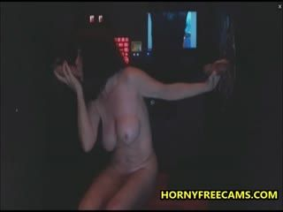 Double Glory Hole BJ And Pussy Creampie For Busty Mature