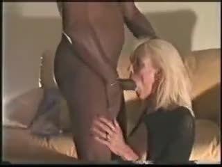 Mature Blonde Gets 2 Black Dicks - Watch Part 2 At WildFuckCam.com