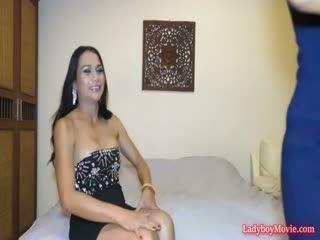 Amateur Ladyboy Gina Interview