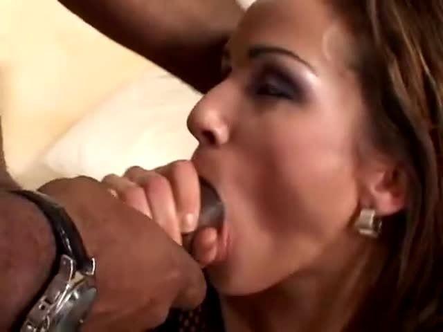 Oral creampie swallow
