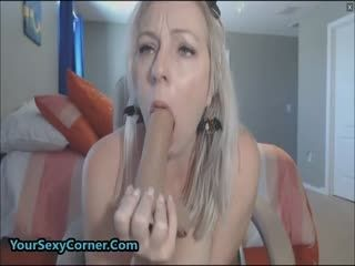 Let Mommy Show You What Dildo Is For