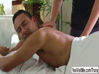 Tori Gets Her Asshole Pounded In Massage