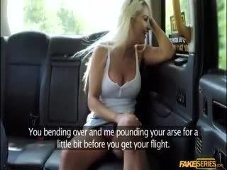Sienna Day Intense Backseat Anal Sex