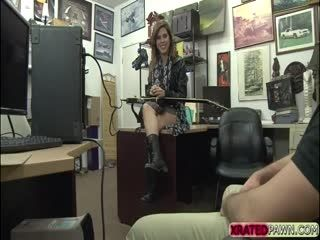 Pretty Latina Babe Lilith Shayton Kneels Down And Sucks Cock For Cash