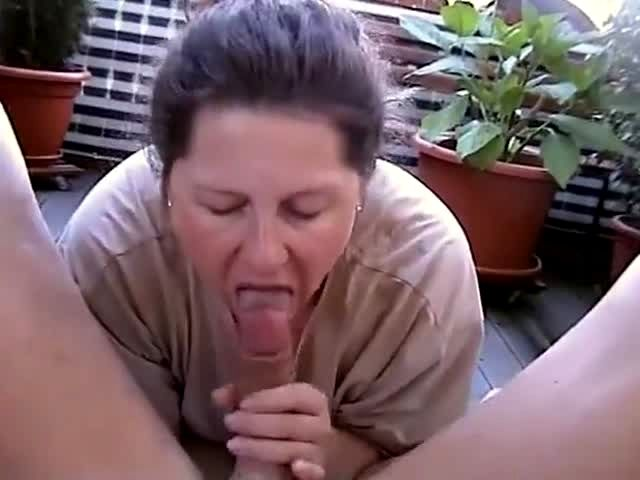 Hubby watched wife got choked with a big hard dick 7