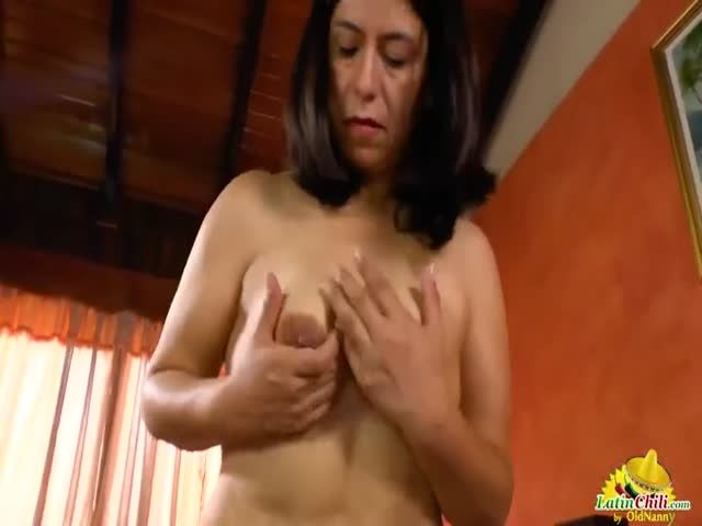 image Latinchili hot busty grandma solos compilation