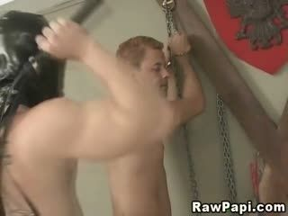 Male Fetish Slave Caged Release And Fuck