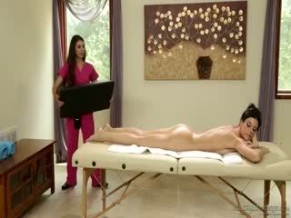 India Summer And Tiffany Doll The Informant - Babe Babes Lesbian Massage