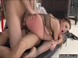 Kinky Marina Visconti Double Stuffed