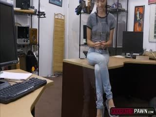 Naughty Hot Babe Kiley Jay Fucks Shawn In His Office