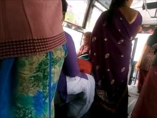 Big Ass Aunty In BUS