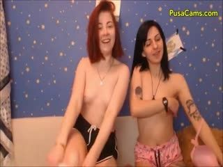 Naughty College Girls Having Pot And Fun On Cam Video