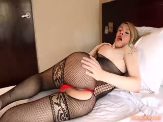 Shemale Nathy Vaqua Toying Session