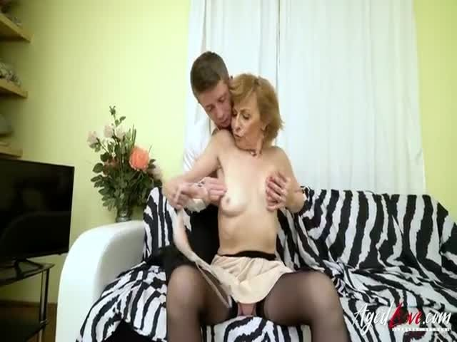 Agedlove christina is chubby which knows how to get it 1