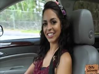 Brunette Vienna Black Hitches A Ride And Gets Fucked