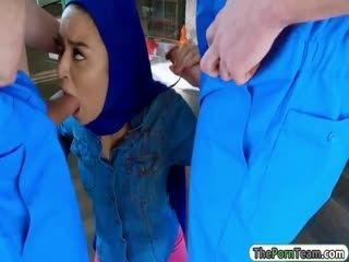 Muslim Girl Fucked By Two Dopey Movers