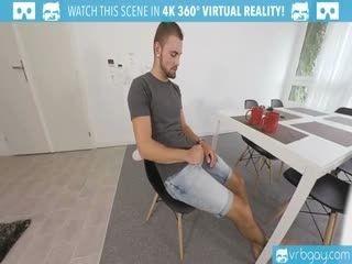VRBGay.com Morning Masurbation With Sexy Twink Jeffrey
