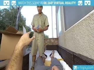 VRBGay.com Ourdoor Ass Fuck With A Hot Stud Gabriel