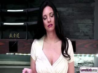 Pretty Riley Licks Mindis Hairy Pussy