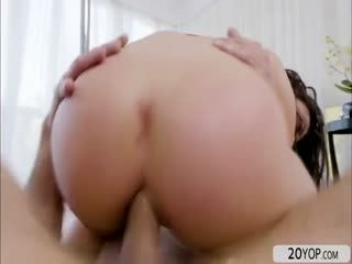 Hot Brunette Whitney Wright Loves A Deep Anal Pounding