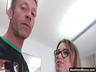 Vera Enjoys Her Pussy Fuck By Two Cocks