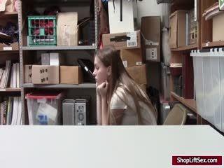 Shoplifter Summer Gets Her Wet Pussy Hammered