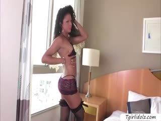 Tgirl Yanka Meirelles Super Horny Anal Session