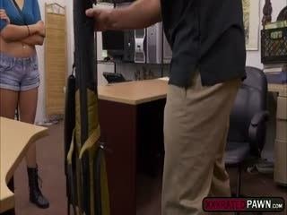 Pretty Babe Samantha Parker Ges Banged In The Office