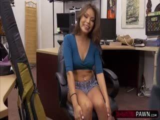 Kinky Samantha Parker Fucks A Pawnmans Cock For Cash