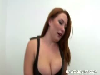 Meaty Redhead Fucked From Behind