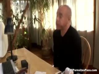 FullPornsitesPass - Blonde Cougar Gets Her Pussy Eaten
