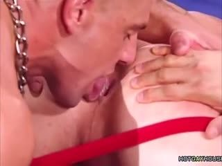 HotGayHouse Two Gays Get Their Asses Fisted