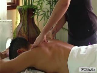 Ts Tori Mayes Bangs Hard On Massage Table