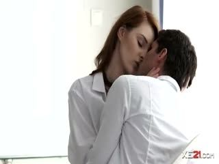 Naughty Redhead With Nice Perky Tits Is Seen Having A Hot Anal With Her Horny Bf.