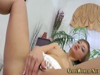 Butt Fucked Babe Gobbles