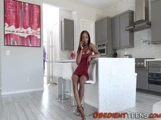 Butt Fucked Ebony Teenager