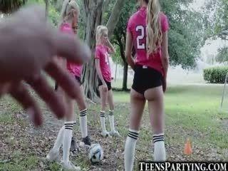 Spying On Hot Soccer Teen Girls!
