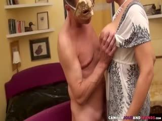 Tranny Fucks Masked Dude