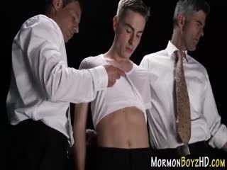 Mormon Teen Mouth Jizzed