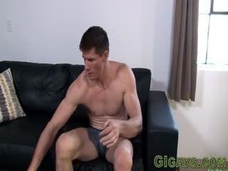 Buff Soldier Tugs Cumshot