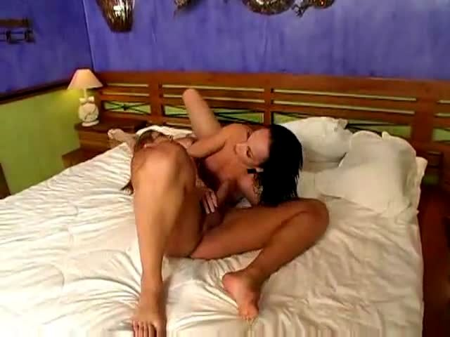 Steamy Asian Sex On A Bed