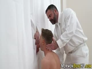 Mormon Teen Giving Bj