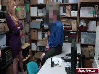 Milf Shoplifter Caught And Fucked