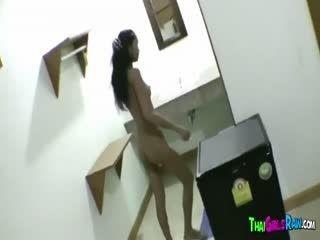 Thai Babe Sucks Cock In Homemade Porn