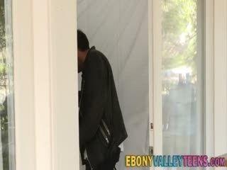 Ebony Valley Teen Spermed