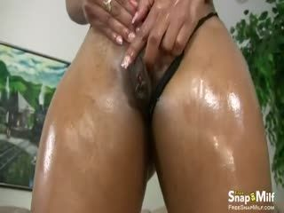 Black Bitch With A Large Round Booty